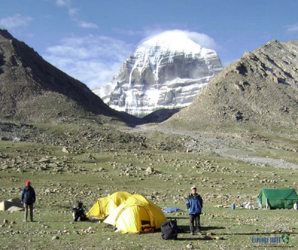 Mount Kailash in Ngari Prefecture